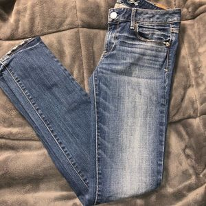 Women's American Eagle skinny jeans size 6 long
